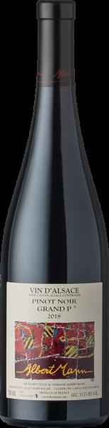 Albert Mann Pinot Noir Grand P 2018 BIO