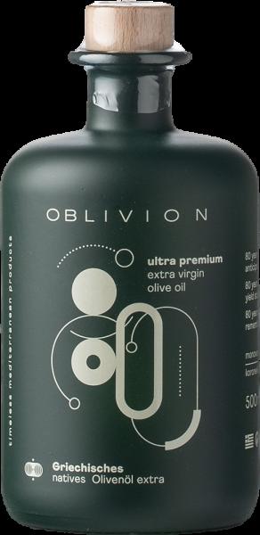 """Oblivion Griechisches Premium Natives Olivenöl Extra """"Premium"""" 2020 0,5 Lt-"""