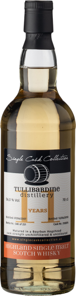 Single Cask Collection Tullibardine 11 YO