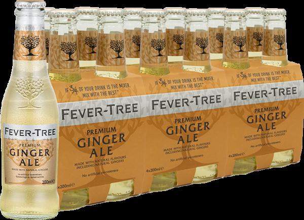 Fever-Tree Ginger Ale Tray á 24 Fl