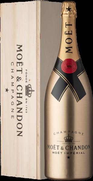 Moët & Chandon Brut Impérial Solid Gold Doppel-Magnum