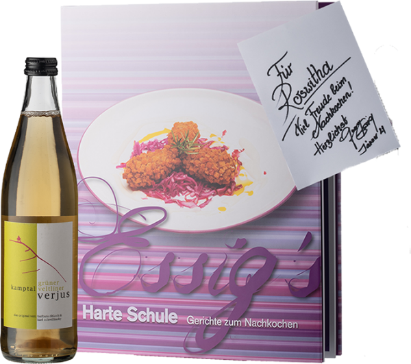 Kochbuch + Verjus
