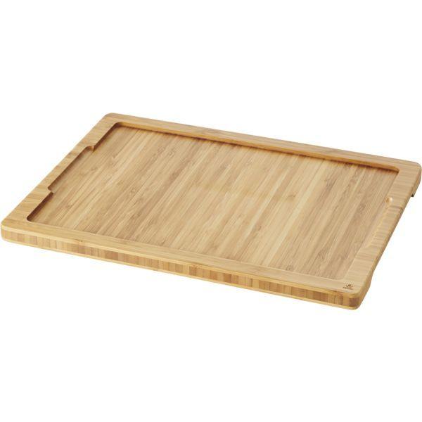 REVOL »Basalt« Tablett für Platte, Bambus, Länge: 375 mm, Breite: 280 mm