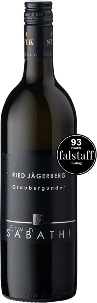 Erwin Sabathi Grauburgunder Ried Jägerberg 1-STK 2019
