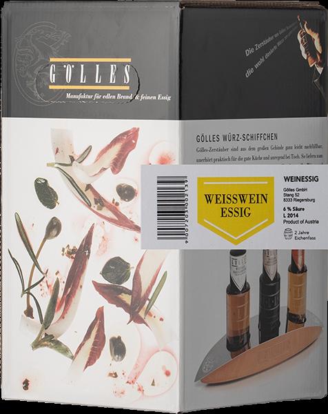 Gölles Weißwein Essig Bag in Box 5L
