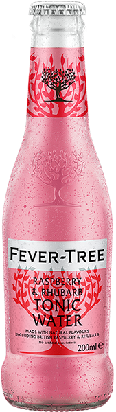 Fever-Tree Raspberry & Rhubarb Tonic Water