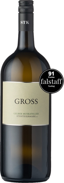 Gross Gelber Muskateller Südsteiermark DAC 2020 Magnum