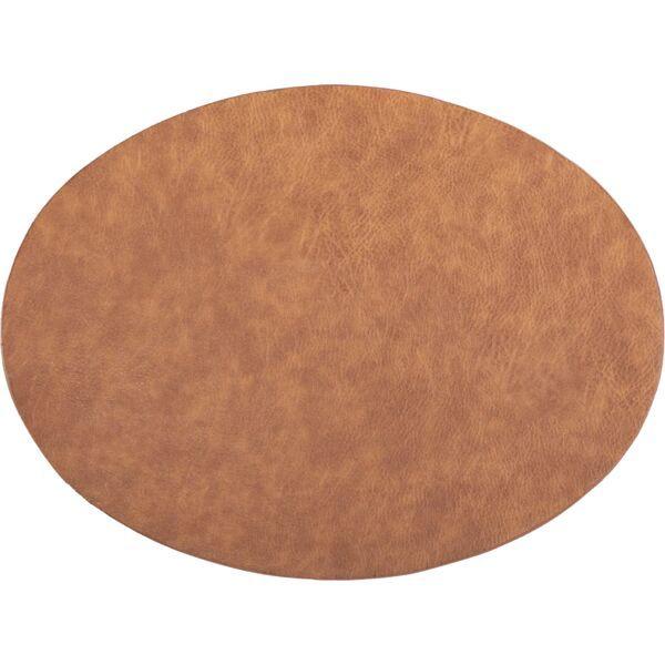 Tischset oval »Troja« karamell