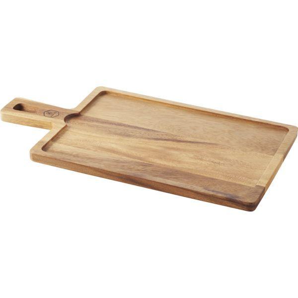 REVOL »Basalt« Tablett mit Griff, Bambus, Länge: 430 mm, Breite 230 mm