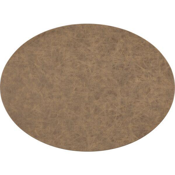 Tischset oval »Truman« walnuss