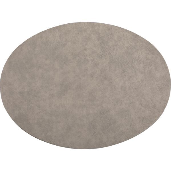 Tischset oval »Troja« anthrazit