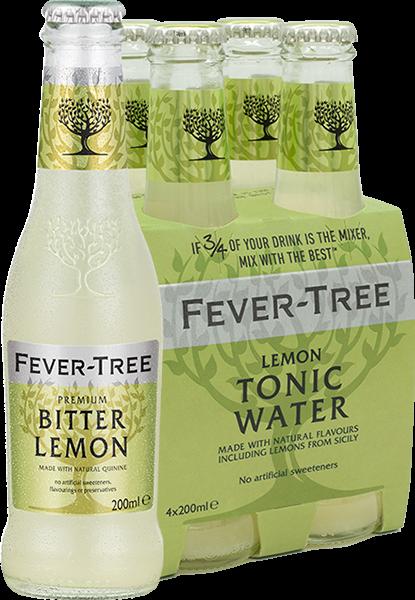 4er Fever-Tree Lemon Tonic