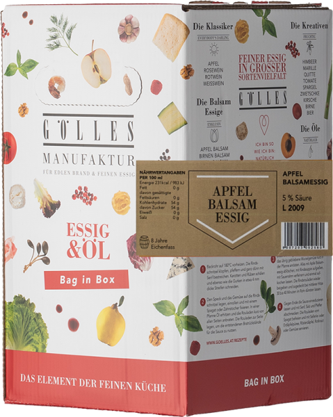 Gölles Apfel Balsamessig Bag in Box 5L