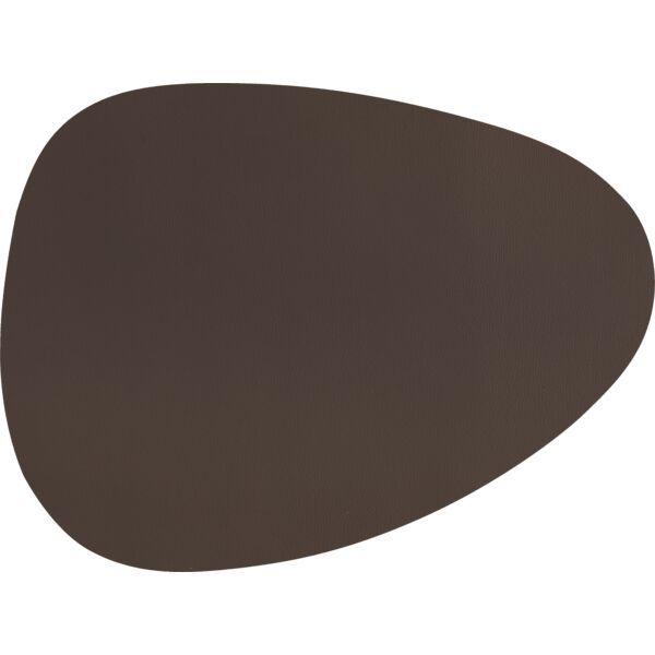 Tischset Tropfen »Togo« braun