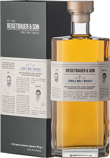 Reisetbauer & Son 7 Years Single Malt Whisky