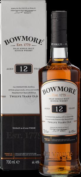 Bowmore 12YO Malt Whisky