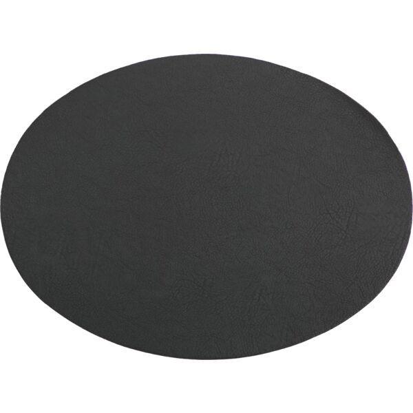 Tischset oval »Troja« schwarz