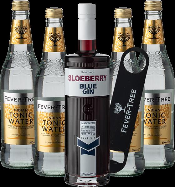 Sloeberry Blue Gin & Tonic