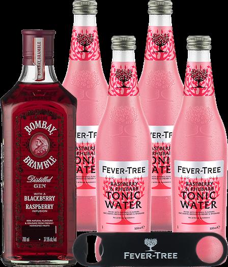 Bramble & Fever-Tree Raspberry & Rhubarb Tonic Water 0,5lt