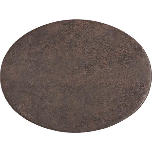 Tischset oval »Troja« kaffee