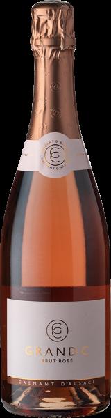 Cattin-Grand C  Crémant d'Alsace Brut Rosé