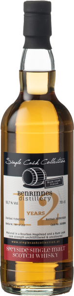 Single Cask Collection Benrinnes 12y