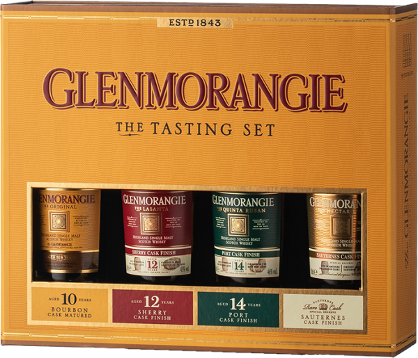 Glenmorangie The Pioneering Collection 4x0,1L Taster Pack