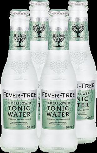 4er Fever-Tree Elderflower Tonic Water