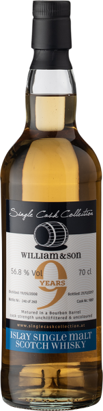 Single Cask Collection William&son 9 yo