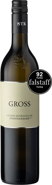 Gross Gelber Muskateller Südsteiermark DAC 2019