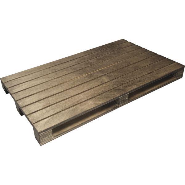 »Vintage« Holzpalette, Höhe: 30 mm, Länge: 300 mm, Breite: 200 mm