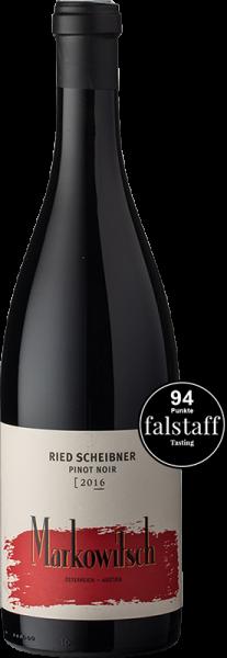 Markowitsch Pinot Noir Ried Scheibner 2016