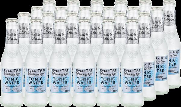 Fever-Tree Refreshingly Light Tonic Water Tray á 24 Fl