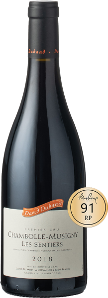 Duband Chambolle-Musigny 1er Cru Les Sentiers 2018