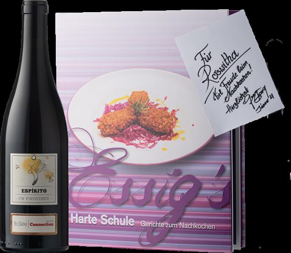 Kochbuch + Portwein
