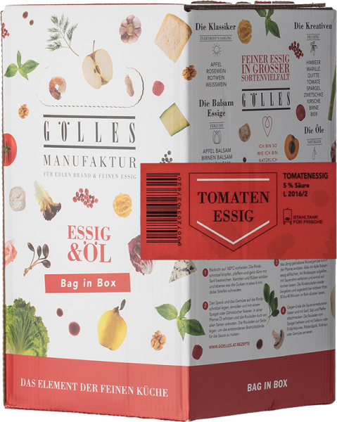 Gölles Tomaten Essig Bag in Box 5L
