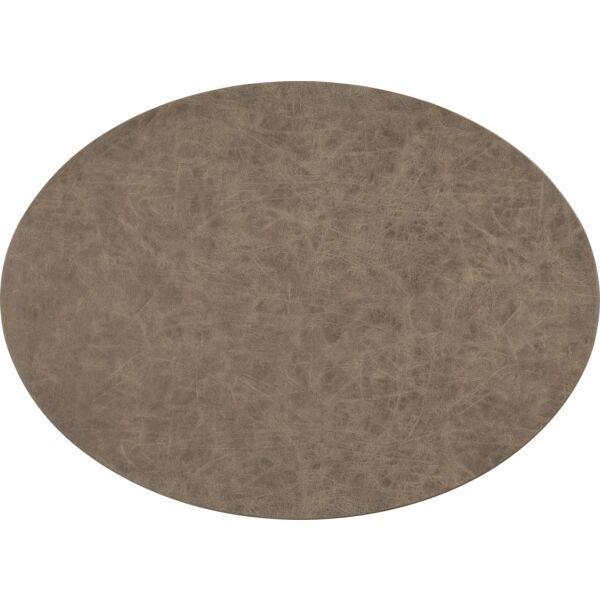 Tischset oval »Truman« kaffee
