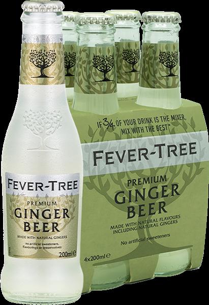 4er Fever-Tree Ginger Beer