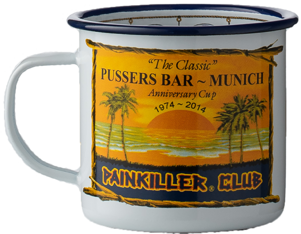 Pusser's British Navy Rum Tasse