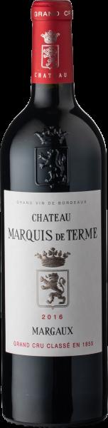 Château Marquis de Terme 2016 4ème GCC