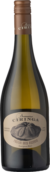Ciringa Sauvignon Blanc Fosilni Breg Reserve 2017