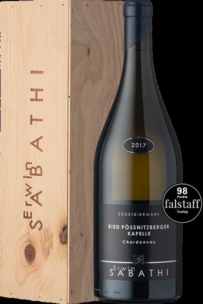 Erwin Sabathi Chardonnay Ried Pössnitzberger Kapelle 2017 Magnum