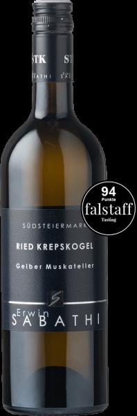 Sabathi Gelber Muskateller Ried Krepskogel 1-STK 2019 BIO
