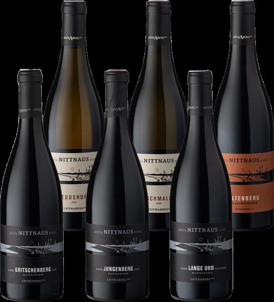 Set Nittnaus Leithaberg DAC Best of Chardonnay & Blaufränkisch 2016