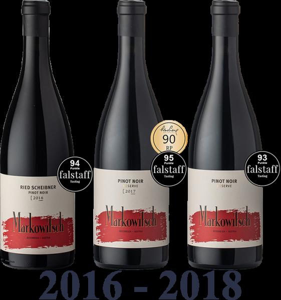 Set 58 Markowitsch Pinot Noir Reserve 16_17_18