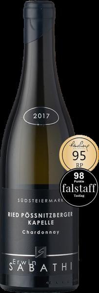 Erwin Sabathi Chardonnay Ried Pössnitzberger Kapelle 2017