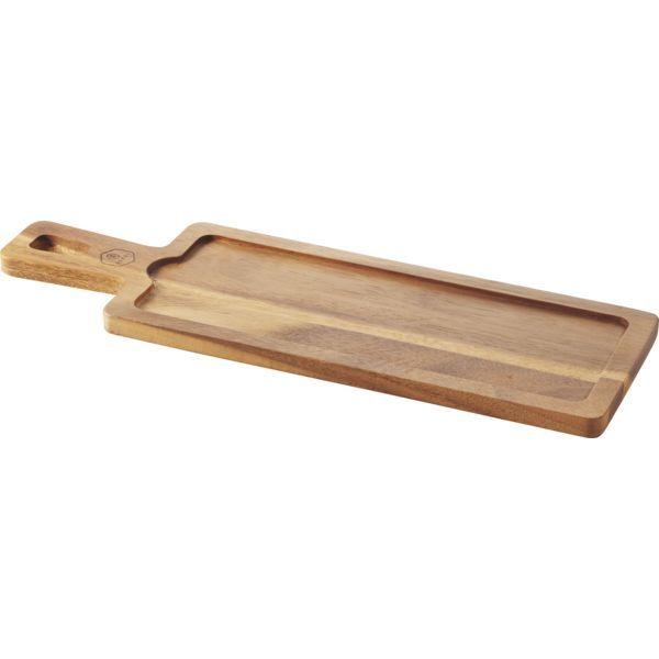 REVOL »Basalt« Tablett mit Griff, Bambus, Länge: 430 mm, Breite 140 mm