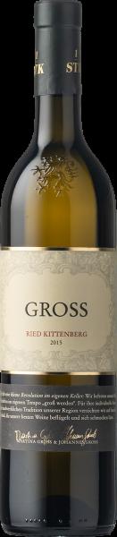"""Gross Weissburgunder Ried Kittenberg """"FR"""" 1-STK 2015"""