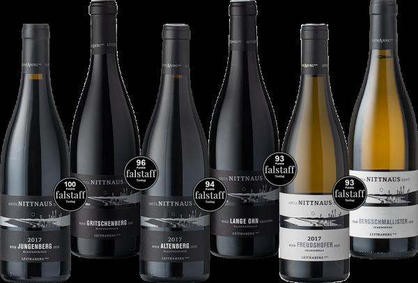 Set 67 Nittnaus Leithaberg DAC Best of Chardonnay & Blaufränkisch 2017