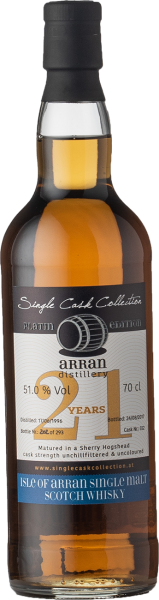 Single Cask Collection Arran 21yo